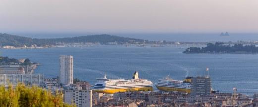 Les Corsica Ferries sont à l'heure