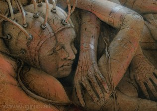 Detail of Dream Generator, 2013 Peter Gric