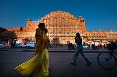 Palais des vents (Hawa Mahal) a Jaipur