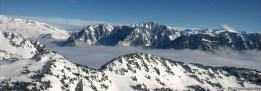 Plateau d'Arselle sous la mer de nuage
