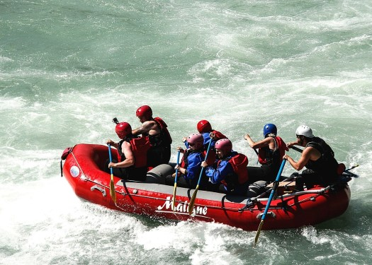 Rafting en aguas mexicanas