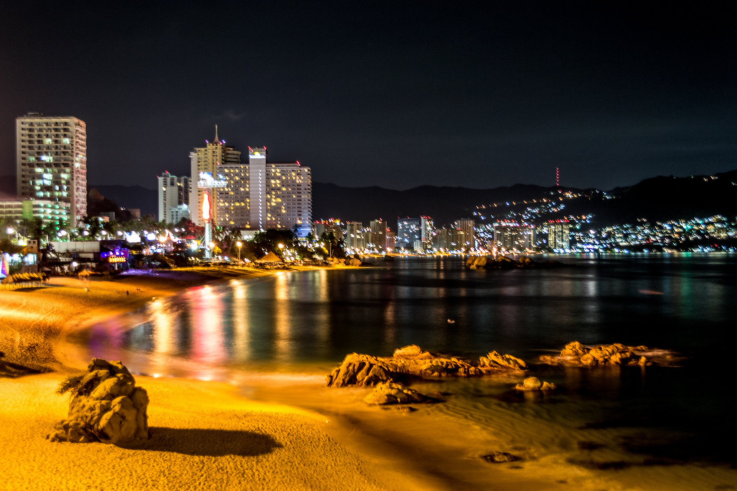 vida nocturna acapulco