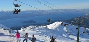 Montaña con nieve
