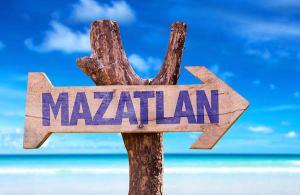 Letrero de Mazatlán