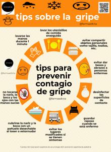 Infografía gripe