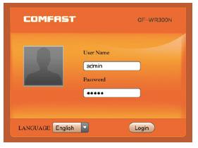 Comfast login