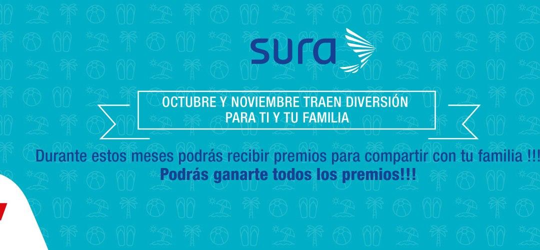 Octubre y noviembre traen diversión para ti y tu familia con SURA