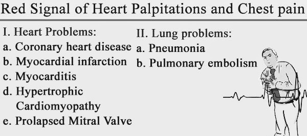 Causes of palpitations
