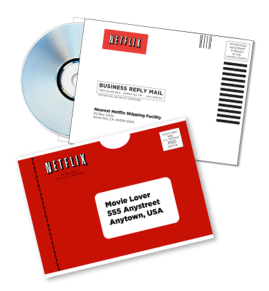 Netflix Review Mailings