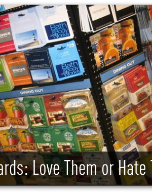 Love Them or Hate Them, Make the Most of Gift Cards this Holiday Season