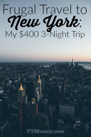 Frugal Travel to New York: My $400 3-Night Trip