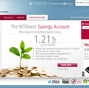 WTDirect Online Savings Account Review