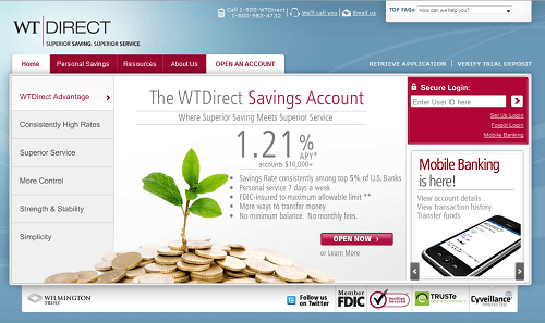 WTDirect Savings Account Review
