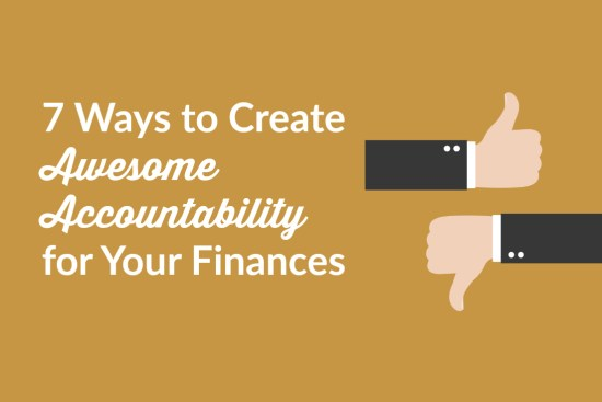 Ways Create Awesome Accountability Your Finances