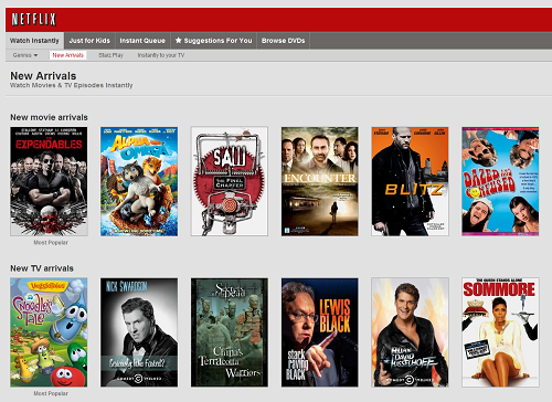 Netflix Unlimited Streaming