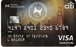 Citi® Hilton HHonors™ Visa Signature® Card 75,000 Bonus Review