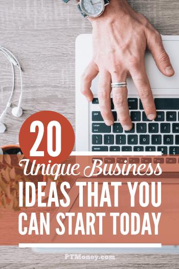 20 Unique Business Ideas That Dont Suck