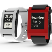 The Pebble smartwatch was funded on Kickstarter