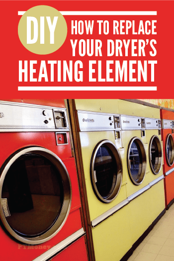 Has your dryer stopped drying? If it is still blowing air and it is just not hot, read PT's post about changing the heating element. This easy fix could get your dryer going again for a fraction of the cost of a new one.