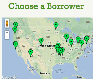 Kiva Zip Choose a Borrower