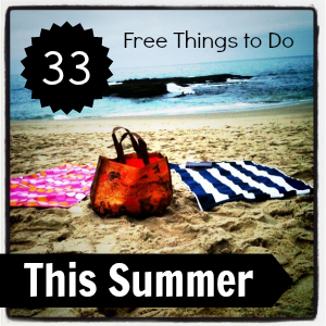 Free Things to Do in the Summer