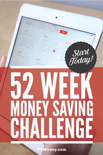 52 week money saving challenge  you can do it