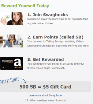 Join Swagbucks.com