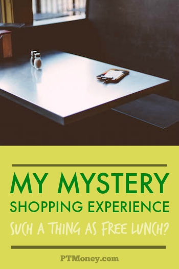 I love experiments, and this one is great. She shares her mystery shopping experience and shows the truth about making money to help restaurants.