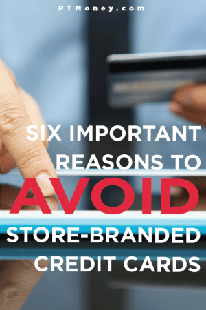 6 Important Reasons to Avoid Store Credit Cards