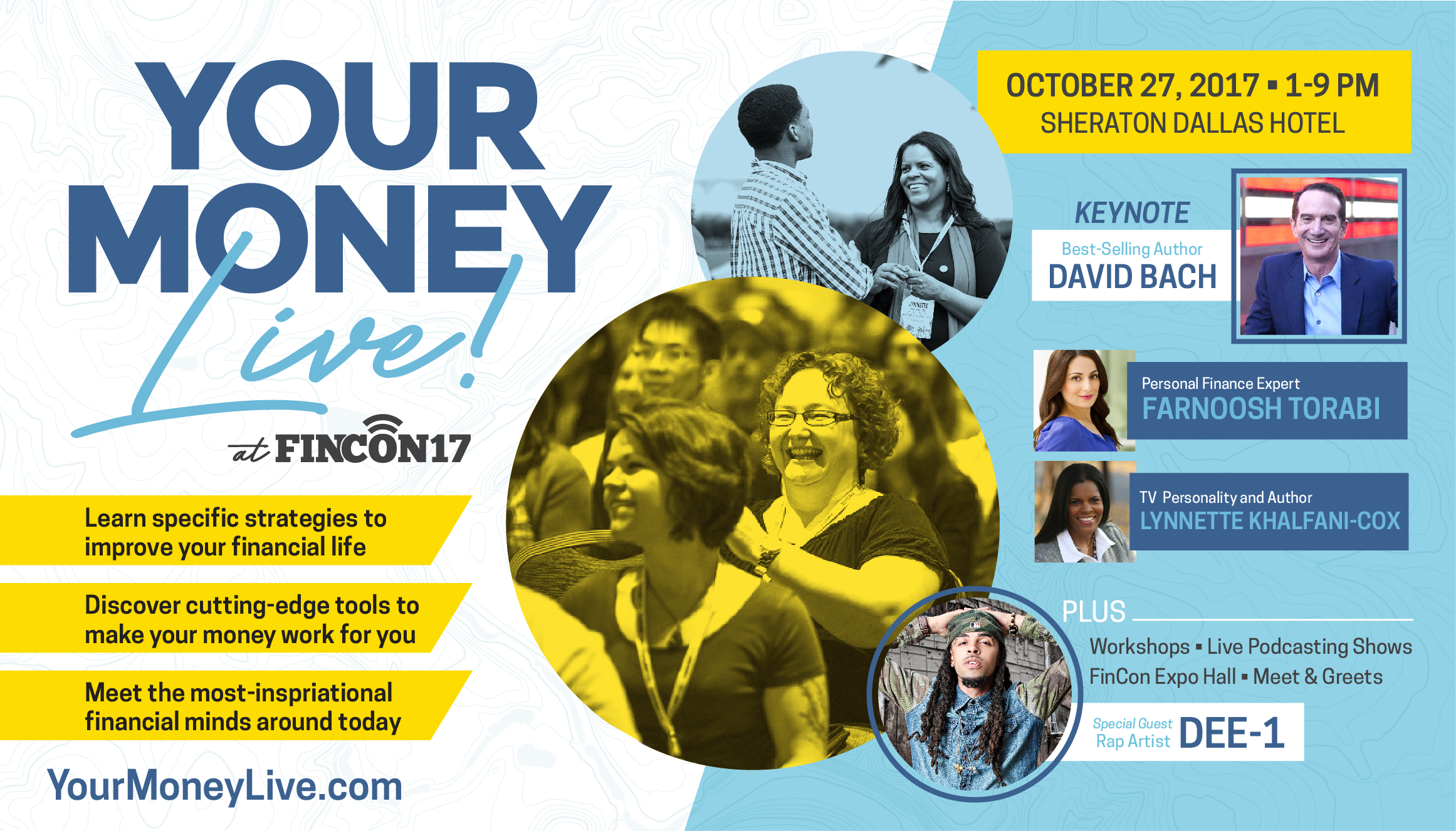 Your Money Live! at FinCon in Dallas October 27 2017