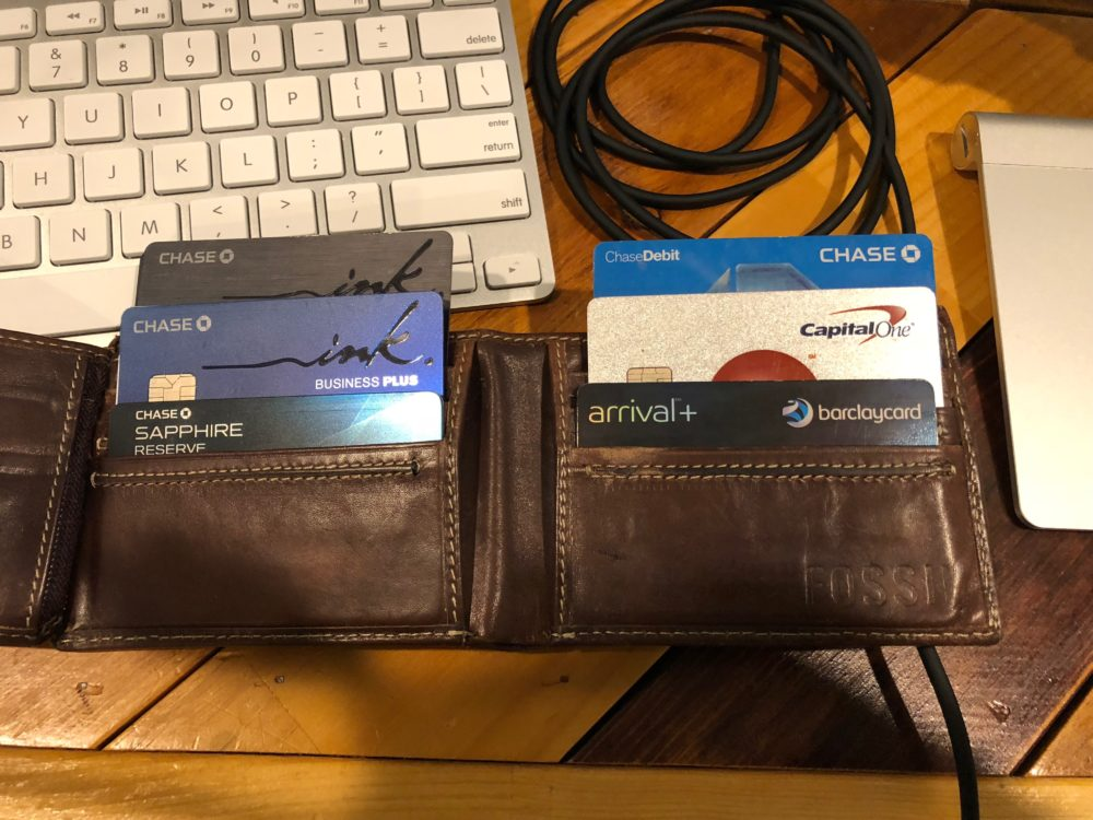 Whats in PT Moneys Wallet - How I organize credit cards in my wallet