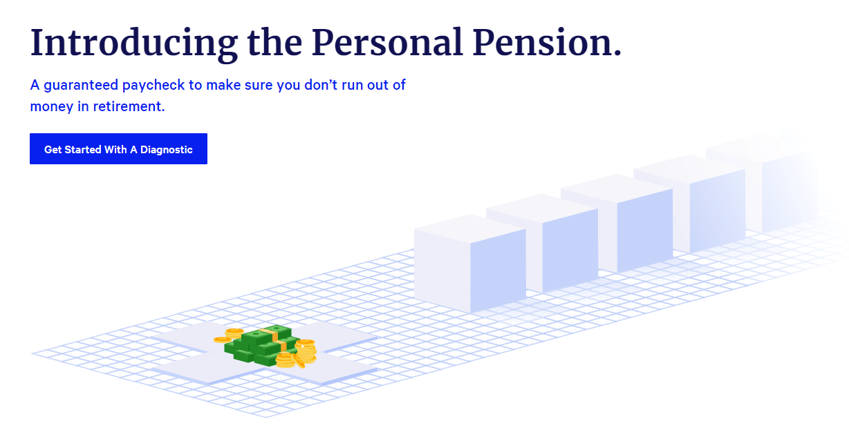 Personal Pension Homepage