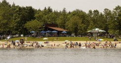 Grafton Lakes State Park (Saratoga/Capital Region): Although technically this park's popular sandy beach is on the shores of a pond (Long Pond), Grafton Lakes is a summer refuge for Capital Region urbanites.