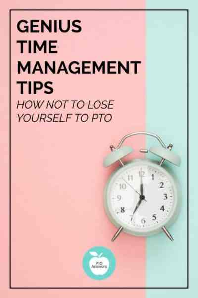 genius time management tips: how not to lose yourself to pto pta