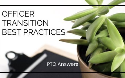 PTO / PTA officer Transition Best Practices