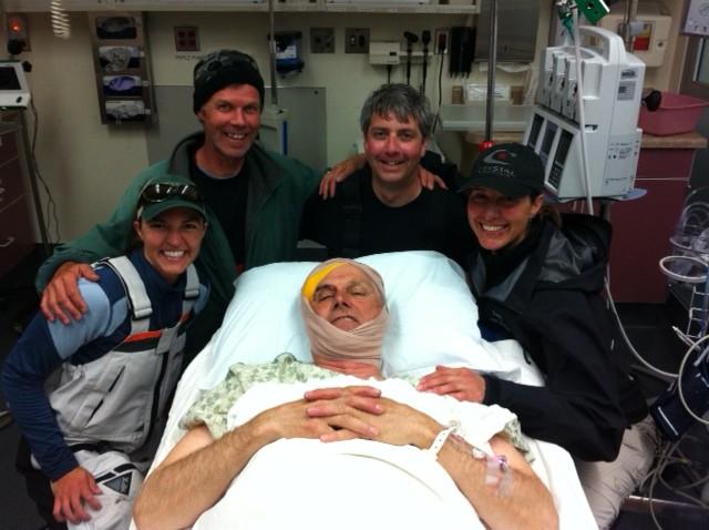 """""""FrankenStig"""" with friends in the ER"""
