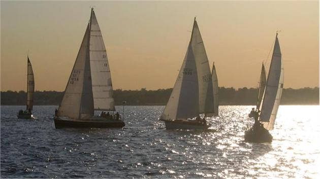 Fewer mistakes are the key to victory in sailboat racing.