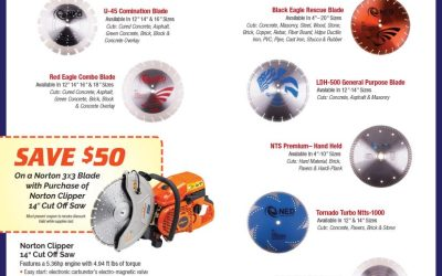 Check out the great line of saws at PTS! Plus Coupon to Save $50 on a Norton Saw!