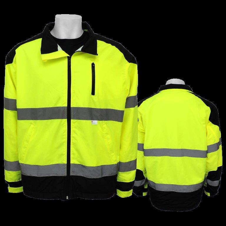 Frogwear High Visibility Safety Wear Premium Windbreaker Jackets