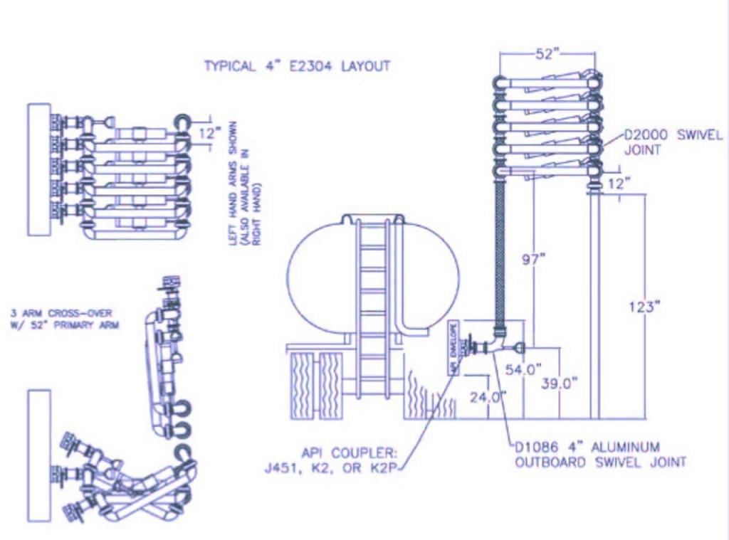 E2304-3 arm cross-over
