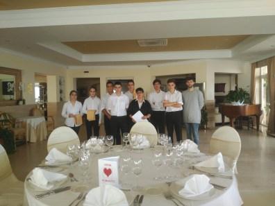 muntatge banquet_H Costa Brava