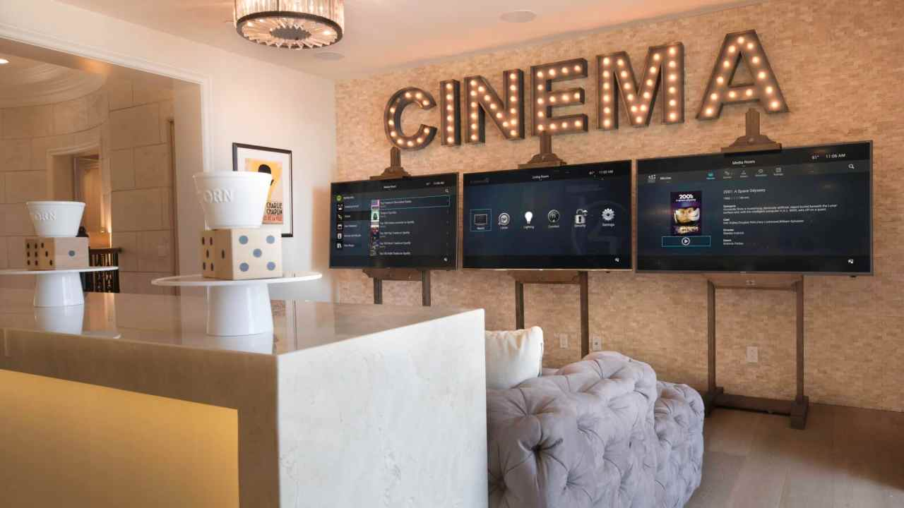 Dallas home theater system