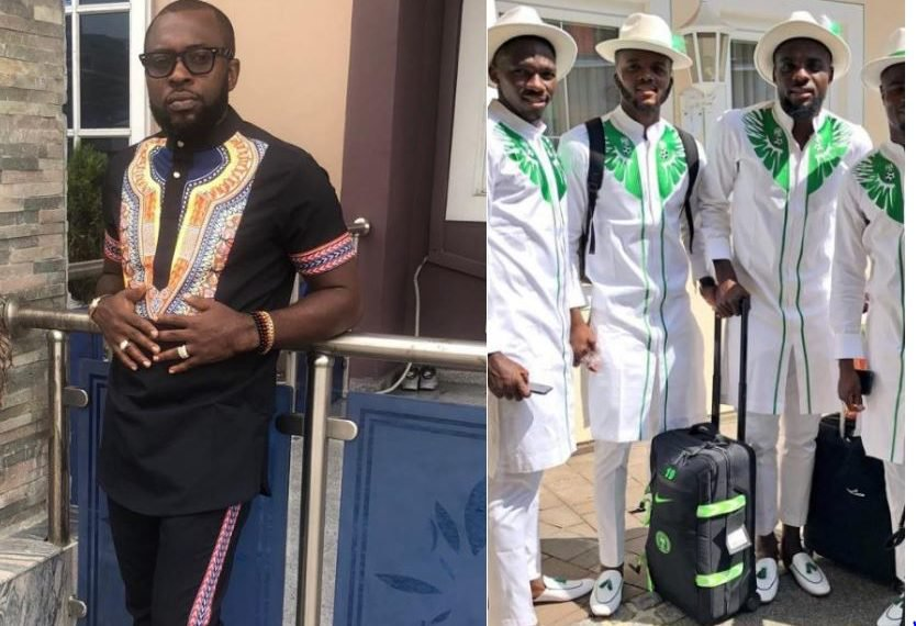 'NFF hasn't paid for Eagles' Russia 2018 W/Cup outfit'