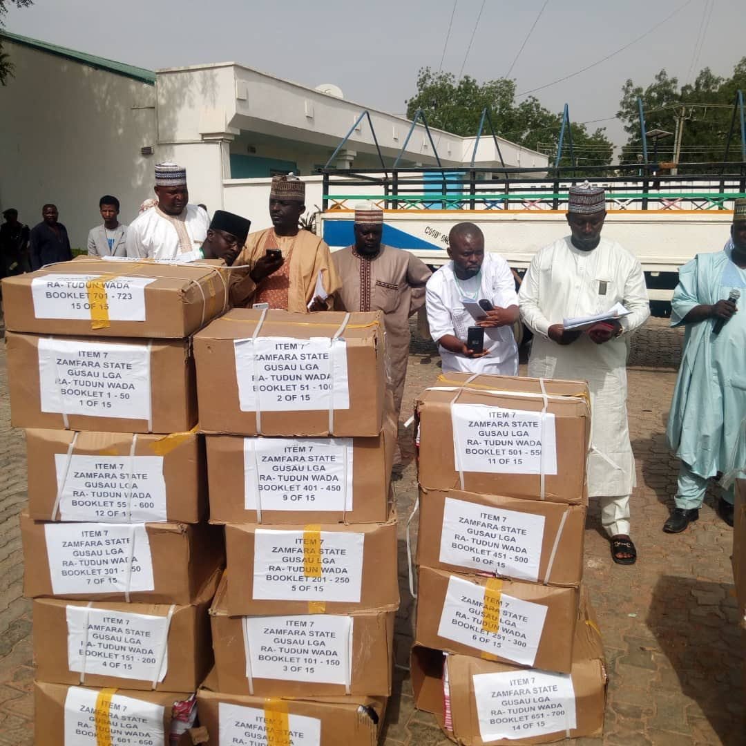 Polls: INEC distributes sensitive materials in Zamfara