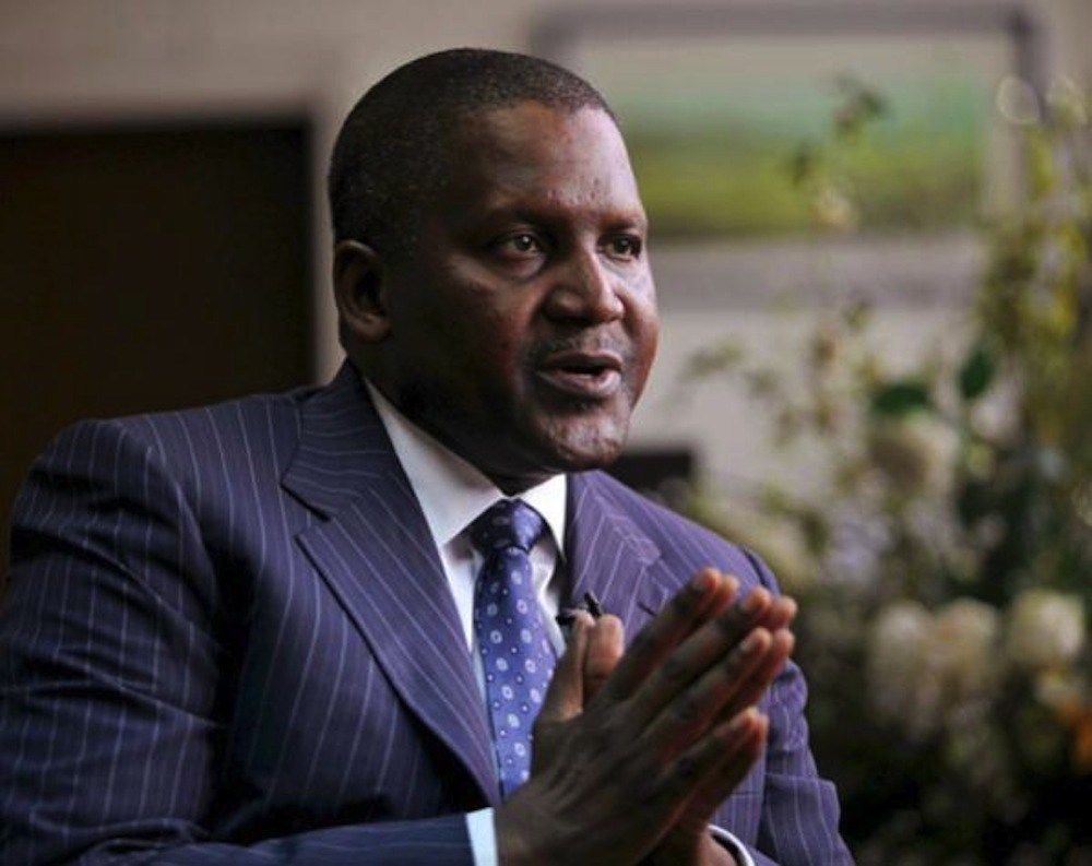 Dangote speaks on elections, says there are better days ahead