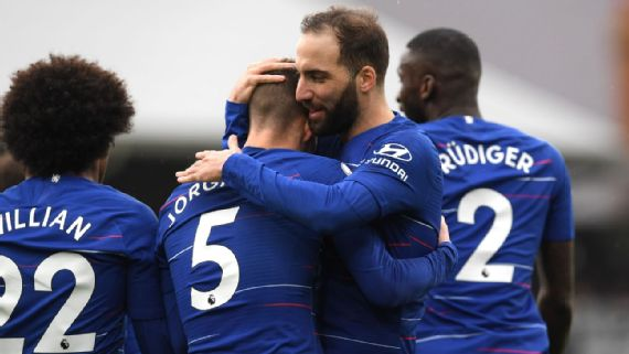 Chelsea down lively Fulham 2-1 in entertaining London derby
