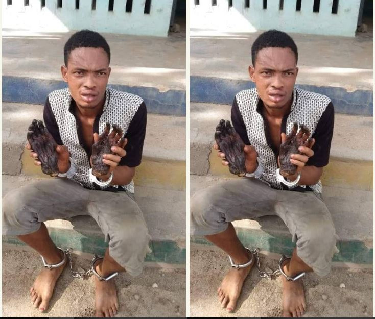 Man with roasted human hands arrested in Ekiti