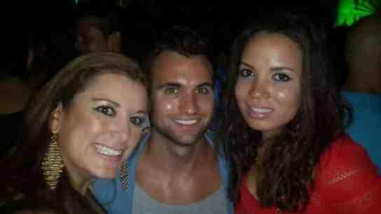 Claudia, me and Bridget