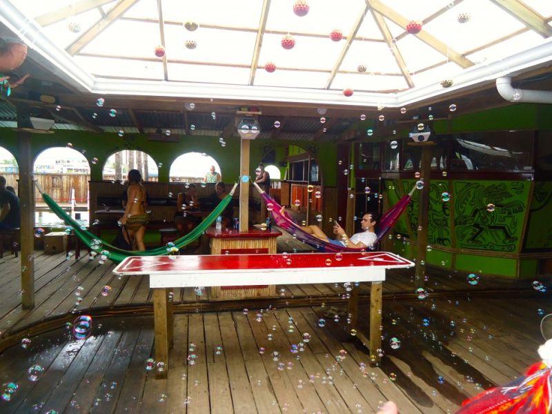 Bubbles at Aqua Lounge