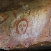 Wandjina-Malerei